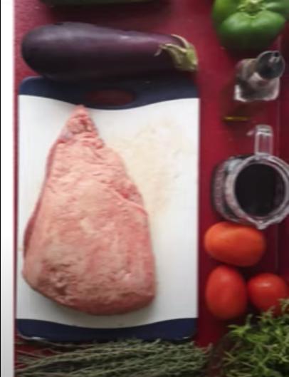 Receta Picaña con vegetales